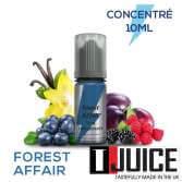Forest Affair 10ML Concentré Spain label