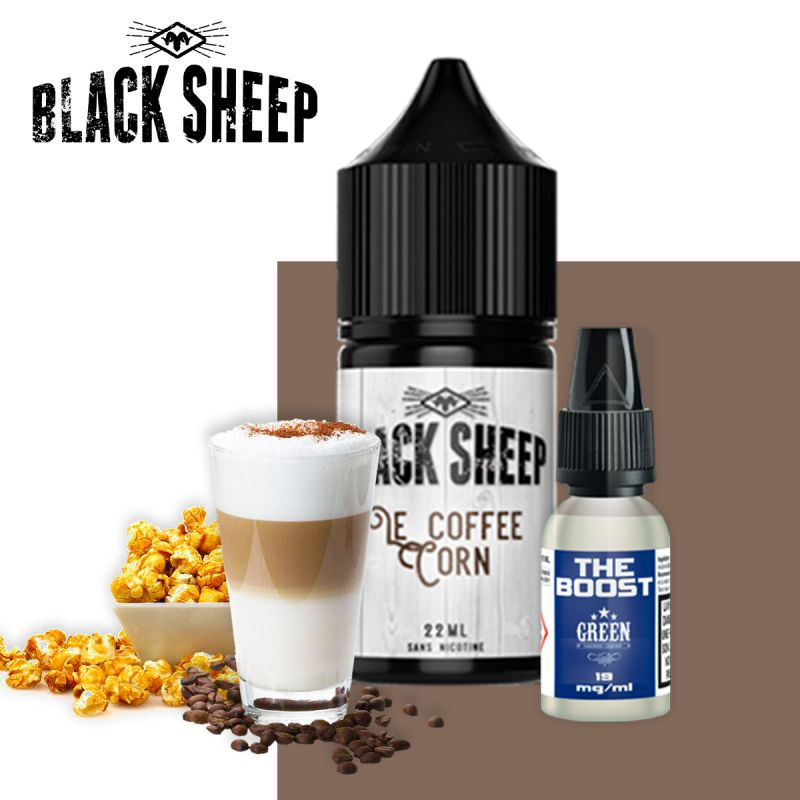 Le Coffee Corn 22ml - Black Sheep