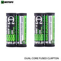 Wotofo Coils Dual Core Fused Clapton (10pcs)