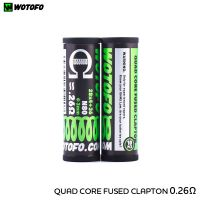 Wotofo Coils Quad Core Fused Clapton (10pcs)