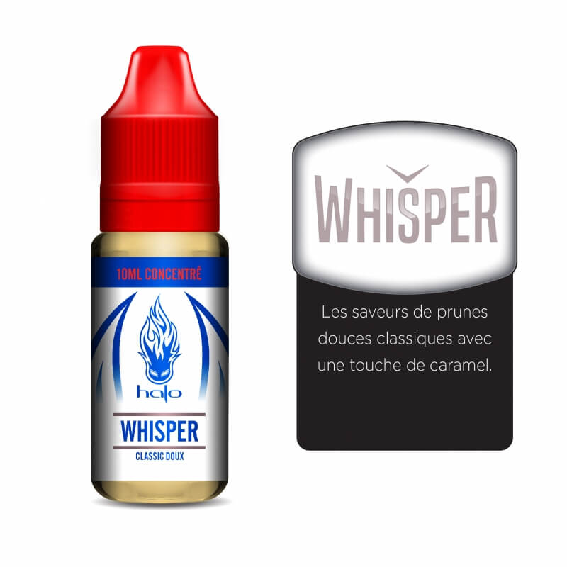 Halo: White label concentré 10ML: Whisper