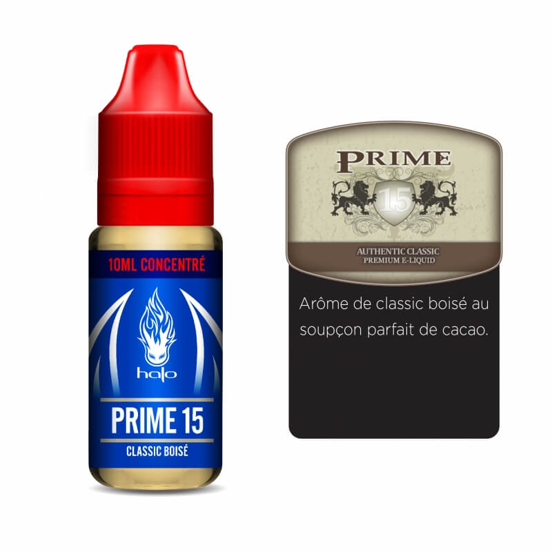 Halo concentré 10ml: Prime 15
