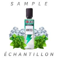 Échantillon Minted 50ml - T-Juice