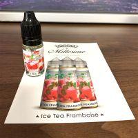 Échantillons Ice Tea Framboise Millésime 10ml