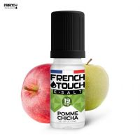 E-SALT POMME CHICHA 10ML - FRENCH TOUCH