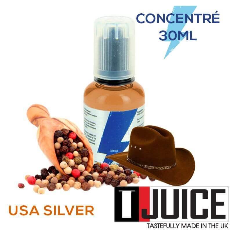 USA Silver 30ML Concentré