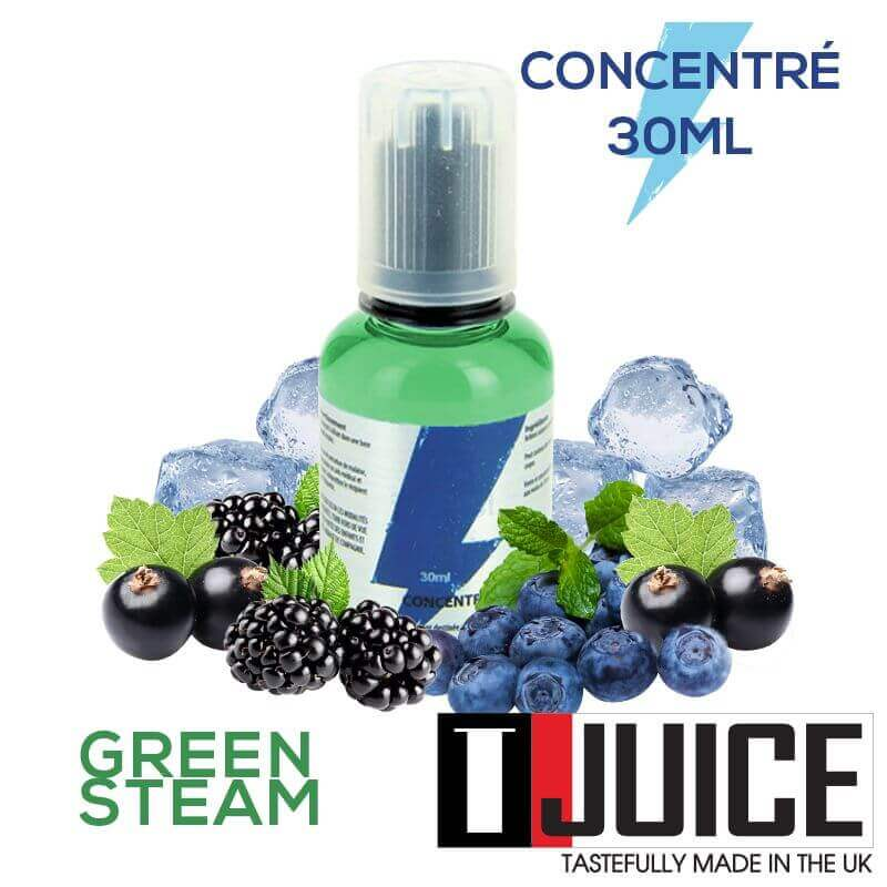 Green Steam 30ML Concentré