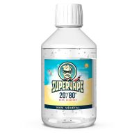 Base 20% PG/80% VG 500ml - Supervape