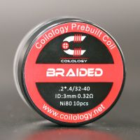 Coils Ni80 Braided (10pcs) - Coilology