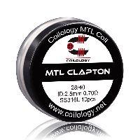 Coils Ni80 MTL Clapton (10pcs) - Coilology