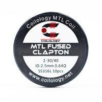 Coils Ni80 MTL Fused Clapton (10pcs) - Coilology