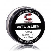 Coils Ni80 MTL Alien (10pcs) - Coilology