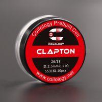 Coils SS316L Clapton (10pcs) - Coilology