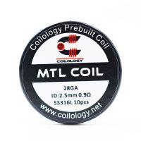 Coils SS316L MTL Coil (10pcs) - Coilology