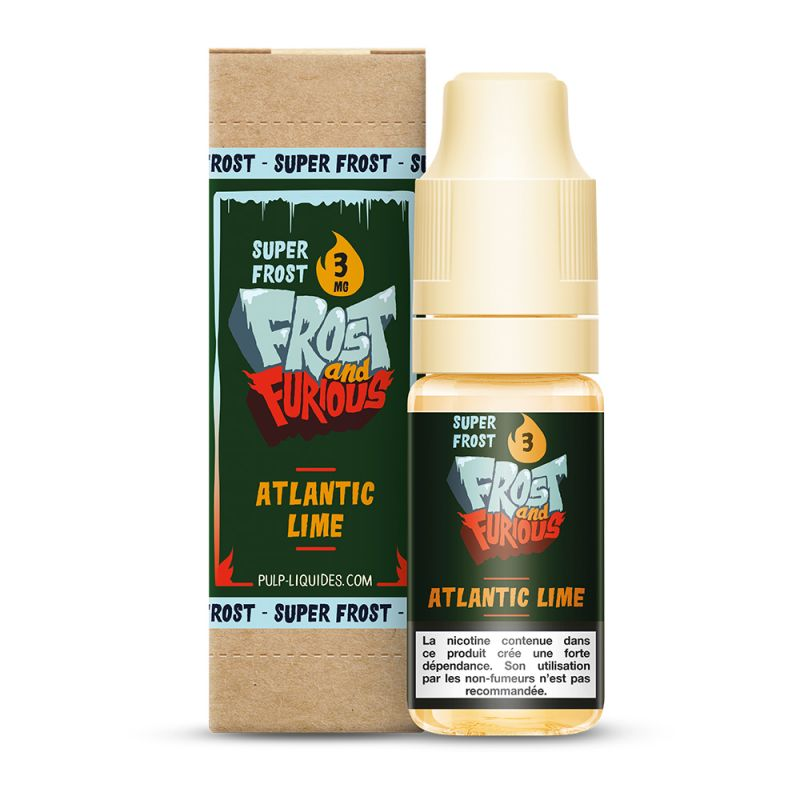 Atlantic Lime Super Frost 10ml - Frost & Furious