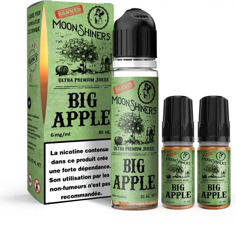 Moon Shiners: Big Apple 60ml Easy2Shake - Le French Liquide