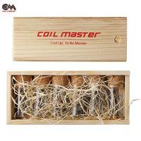 Coils pré-faites Flat Twisted (6x10pcs) - Coil Master