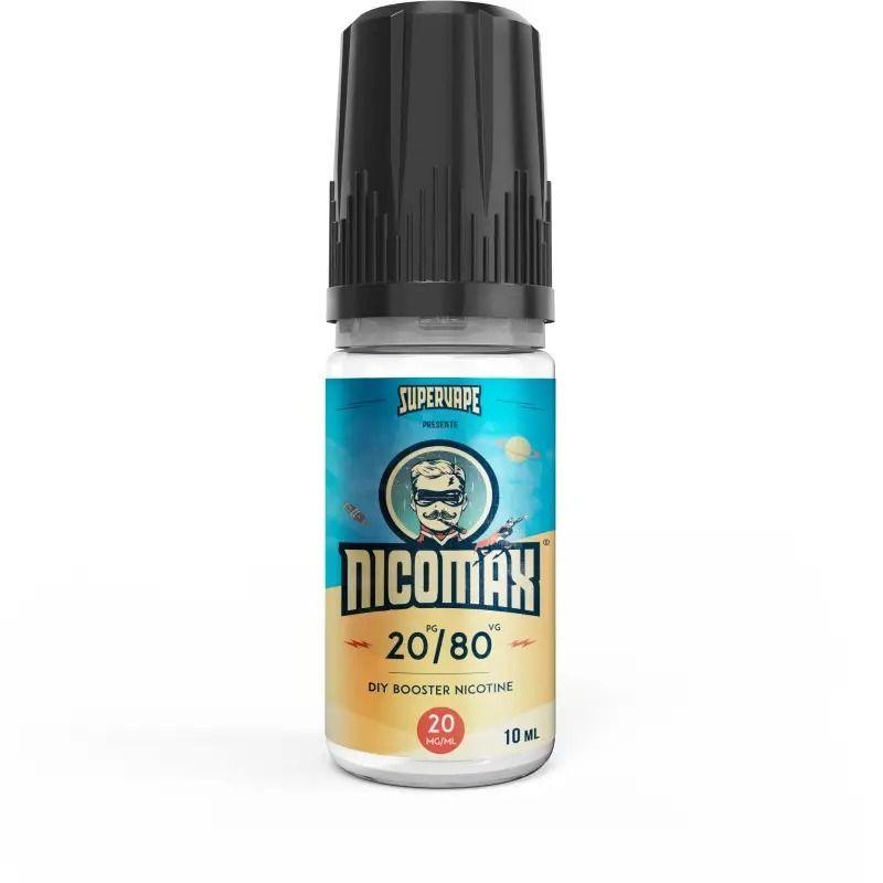 SuperVape : Booster de Nicotine Nicomax 10ml (Nicotine 20mg)