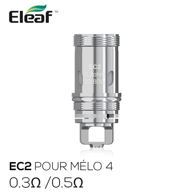 ELEAF: résistances EC2 (5pcs)