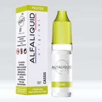 Cassis 10ml - Alfaliquid Fruitées