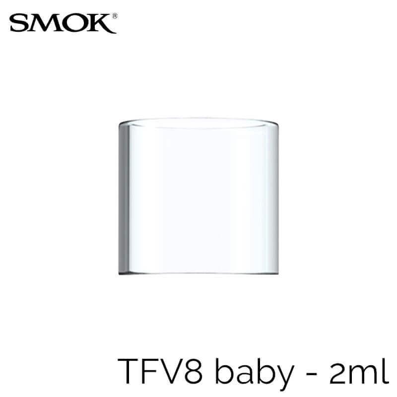 SMOK TFV8 Baby - Pyrex 2ml (pack de 3 pcs)