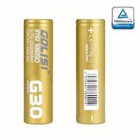 Accu G30 18650 3000mAh 20A (Boite de 2) - Golisi