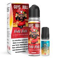 Guys & Bull: Crazy Tarte aux Fraises 60ml Easy2Shake - Le French Liquide