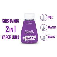 I love 66 - Vapor Juice 2en1