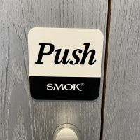 Plaque Open / Closed Smok