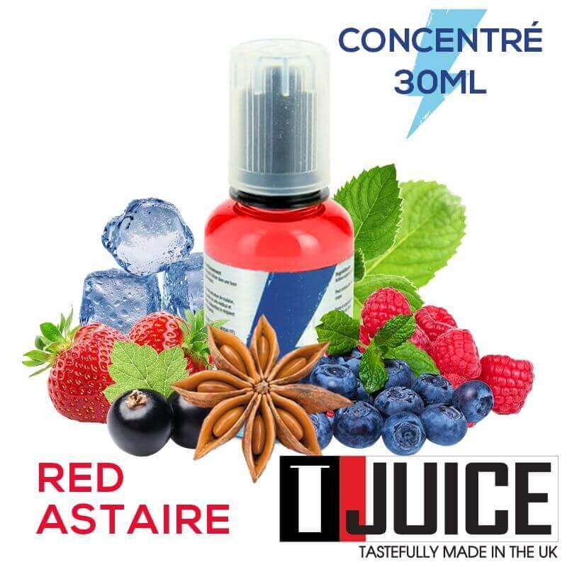Red Astaire 30ML Concentré Spain label