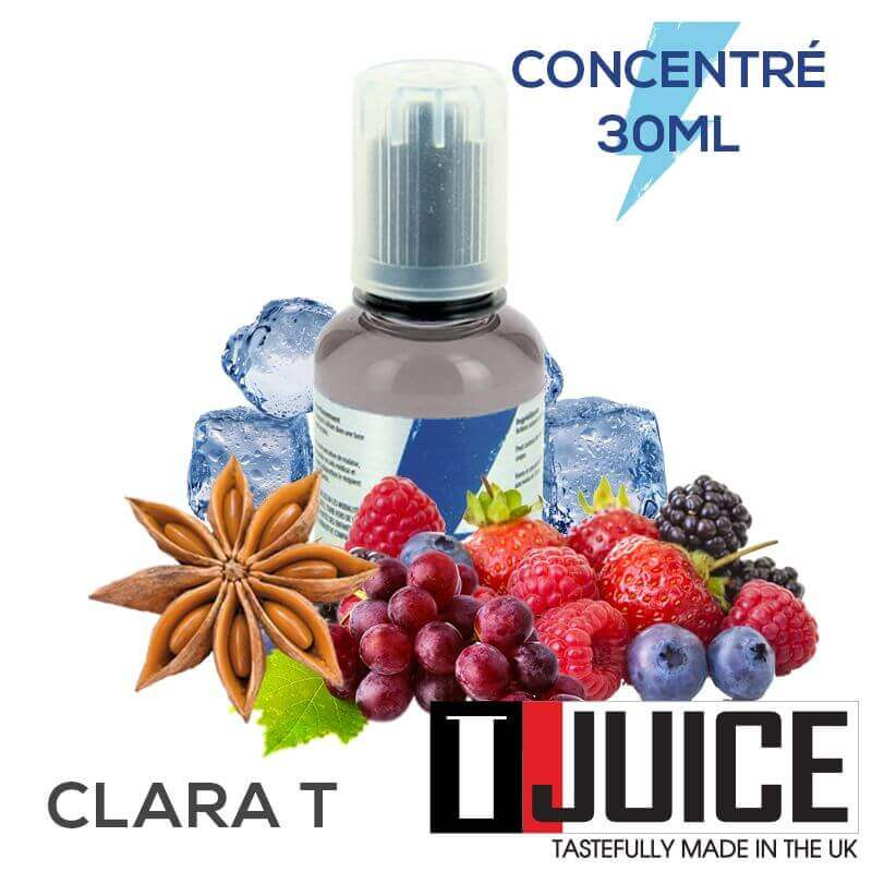 Clara-T 30ML Concentré Spain label