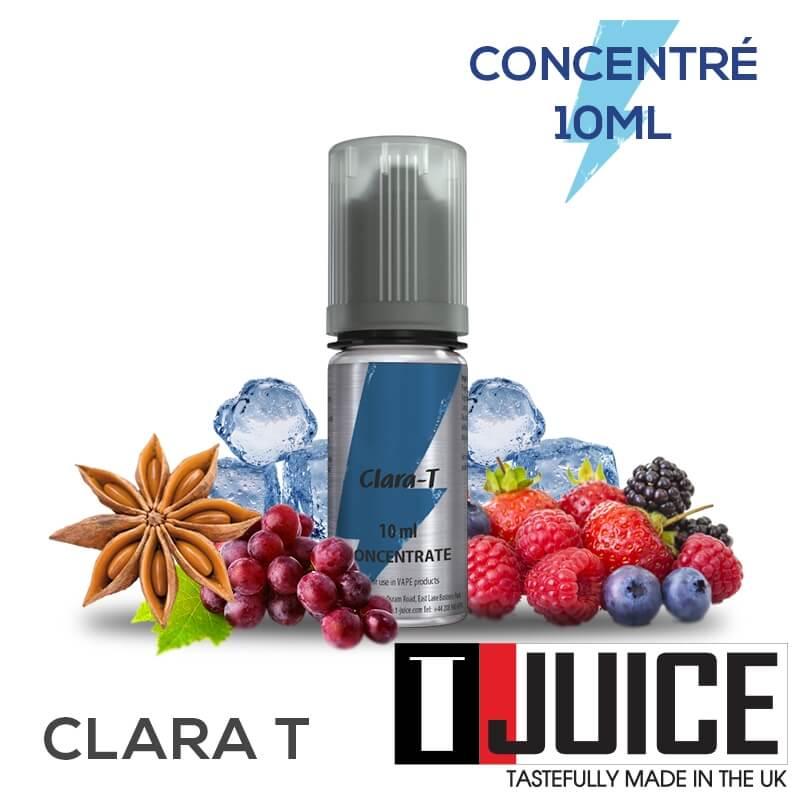 Clara-T 10ML Concentré Spain label