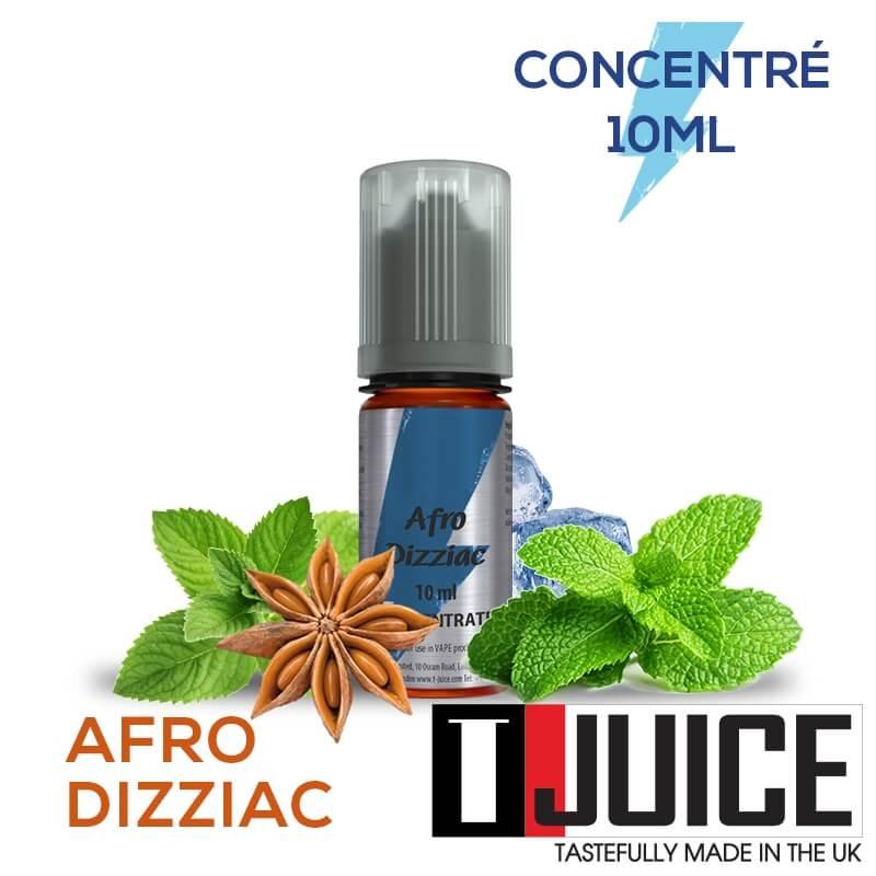 Afro Dizziac 10ML Concentré Spain label