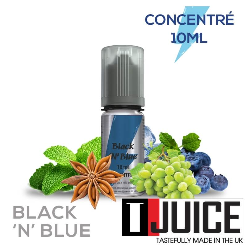 Black 'n' Blue 10ML Concentré Spain label