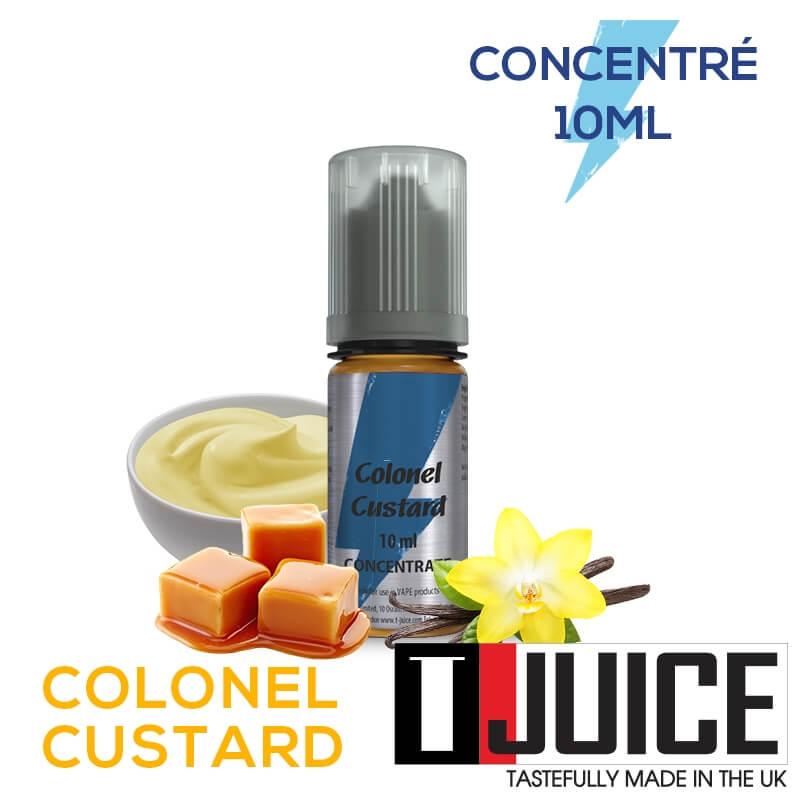 Colonel Custard 10ML Concentré Spain label