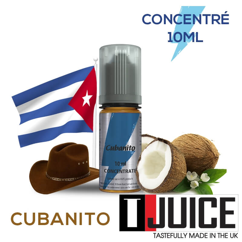 Cubanito 10ML Concentré Spain label
