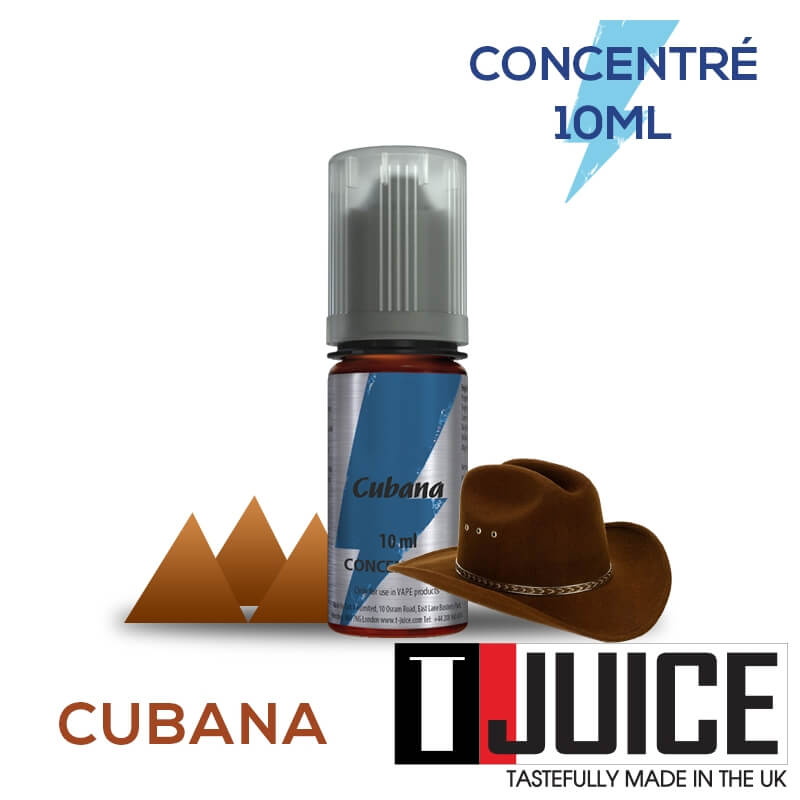 Cubana 10ML Concentré Spain label