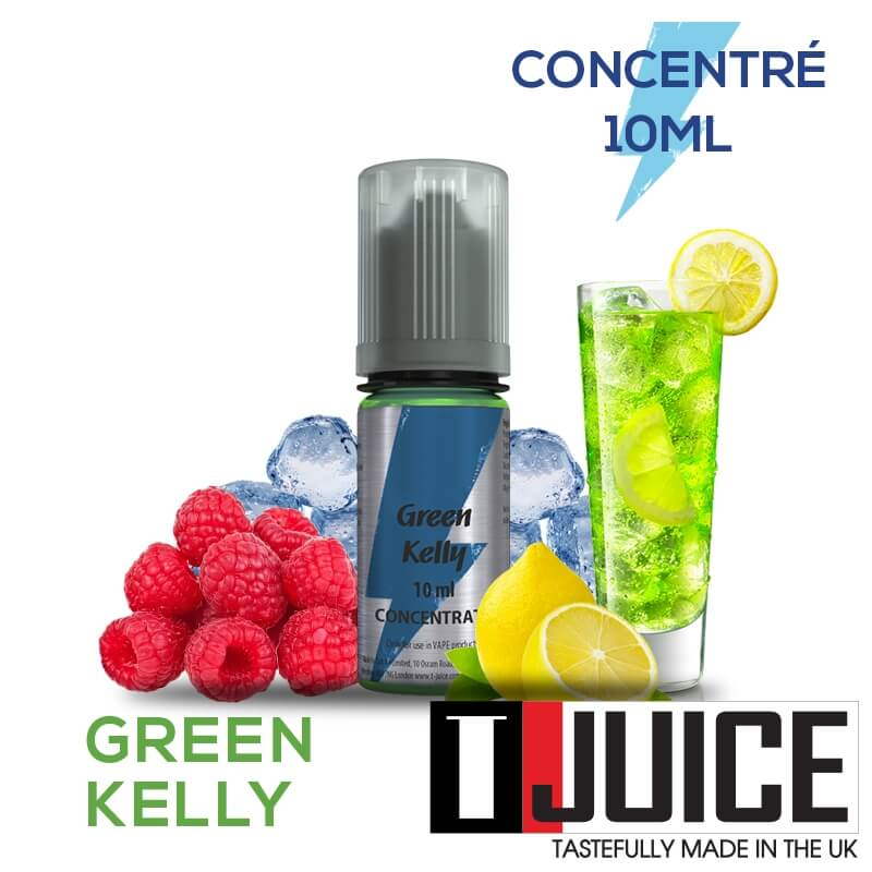 Green Kelly 10ML Concentré Spain label