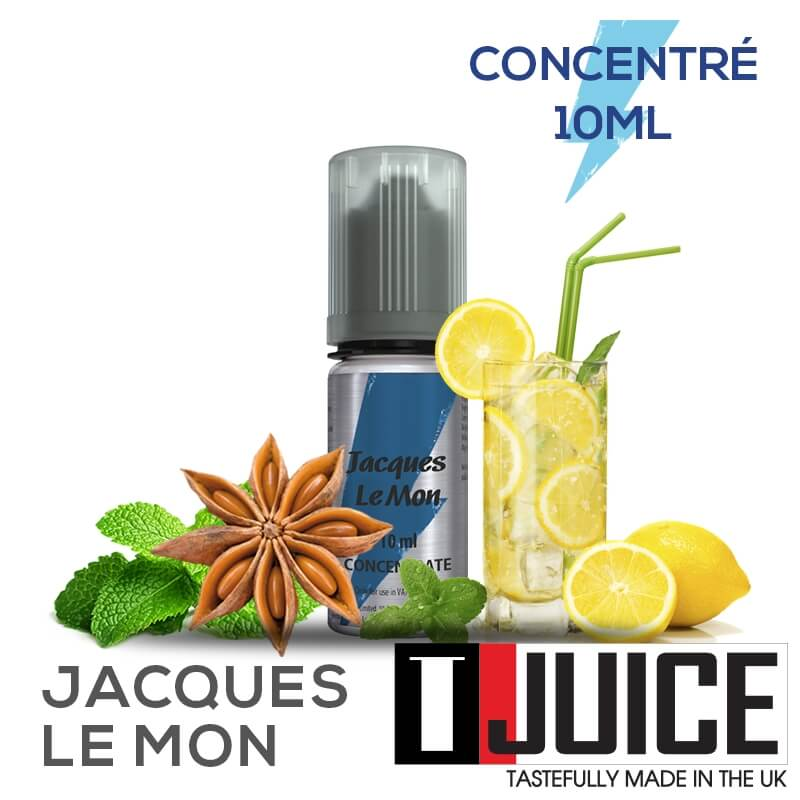 Jacques Le Mon 10ML Concentré Spain label