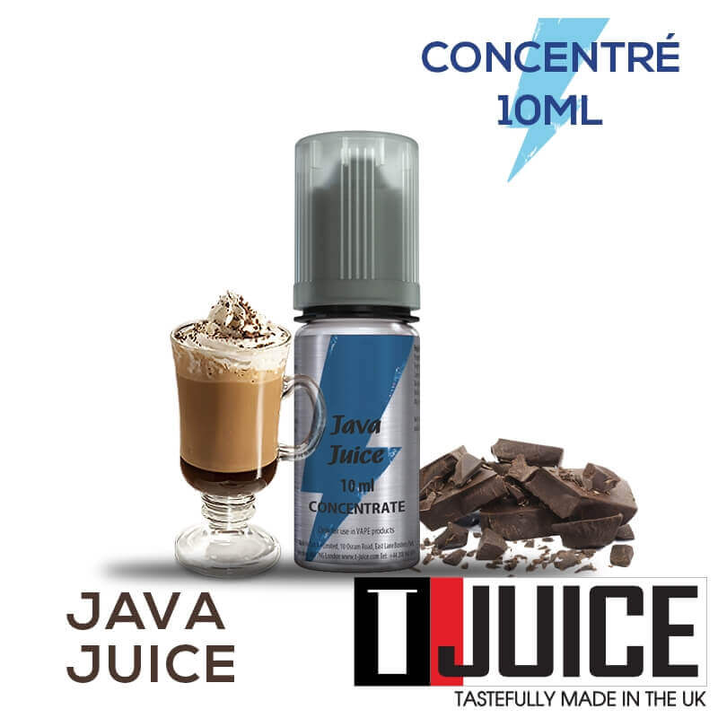 Java Juice 10ML Concentré Spain label