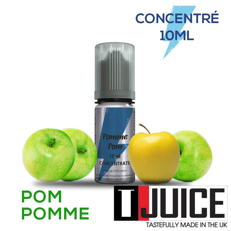 Pomme Pom 10ML Concentré Spain label