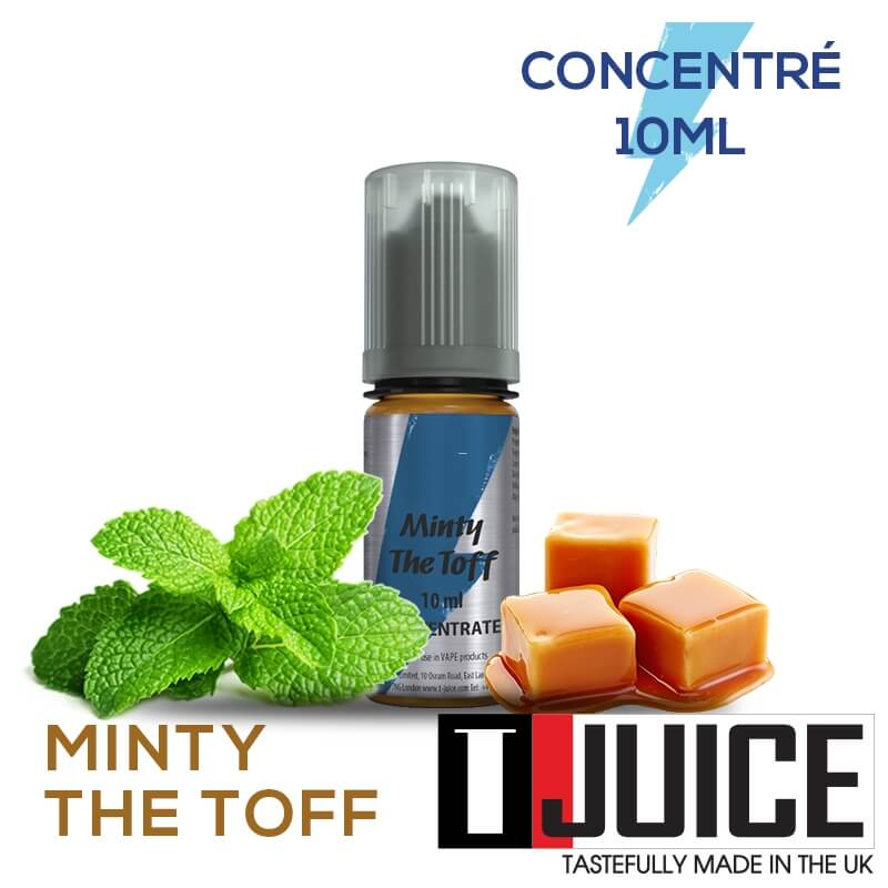 Minty the Toff 10ML Concentré Spain label