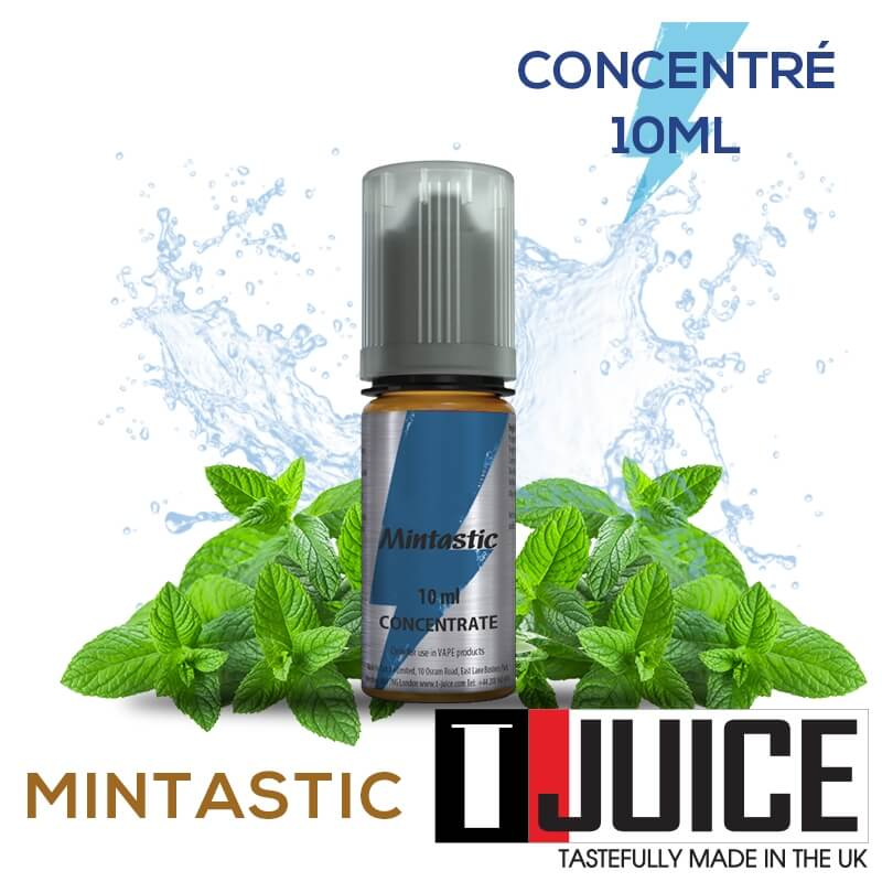 Mintastic 10ML Concentré Spain label