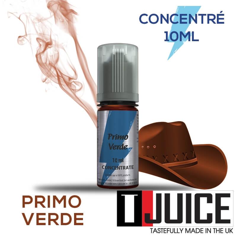 Primo Verde 10ML Concentré Spain label