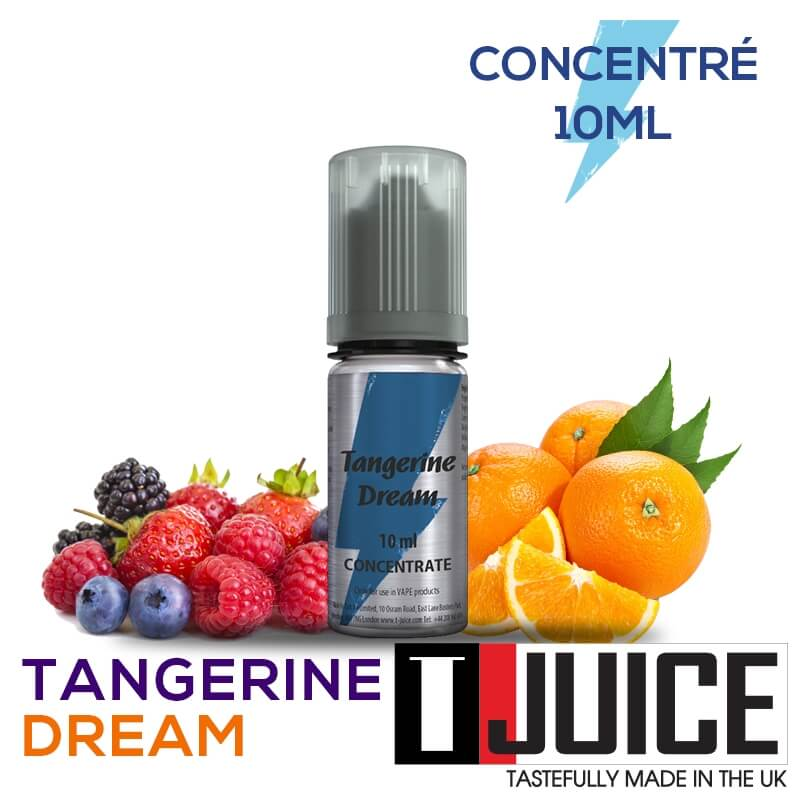 Tangerine Dream 10ML Concentré Spain label