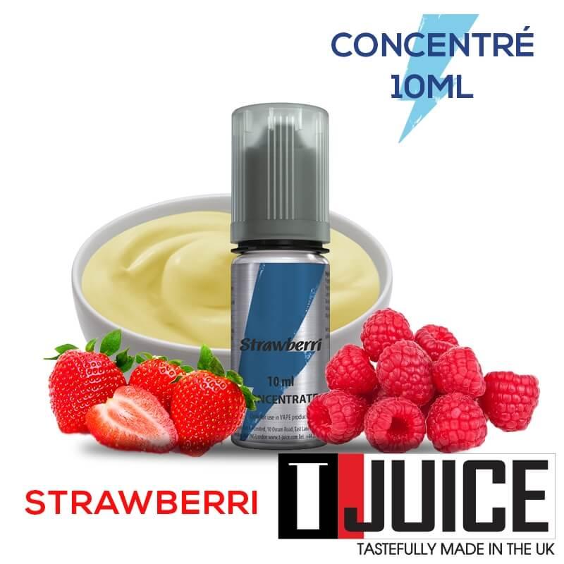 Strawberri 10ML Concentré Spain label