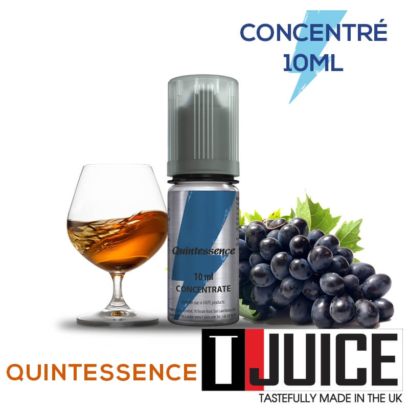Quintessence 10ML Concentré Spain label