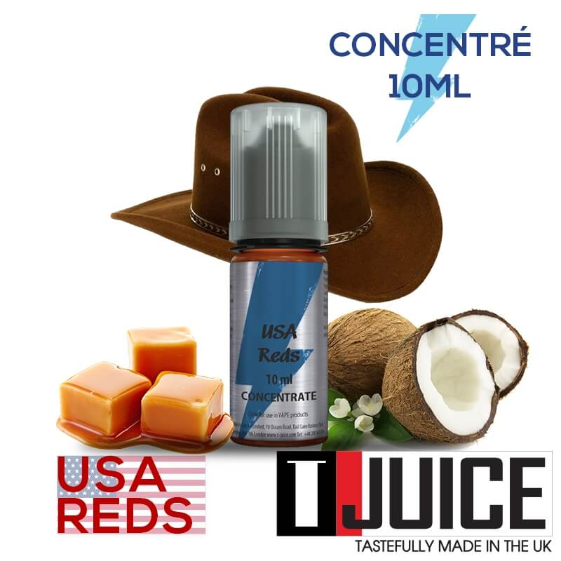 USA Reds 10ML Concentré Spain label