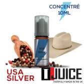 USA Silver 10ML Concentré Spain label