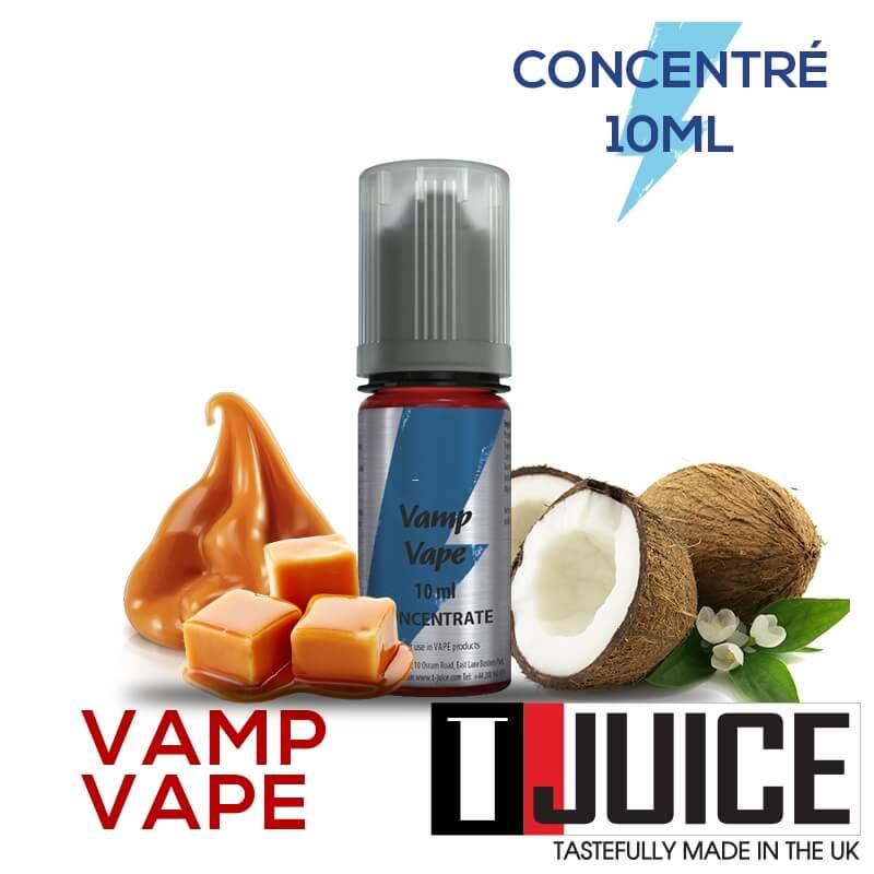 Vamp Vape 10ML Concentré Spain label